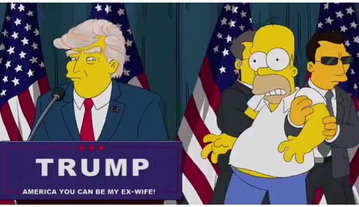 'DONALD TRUMP PRESIDENT' – SIMPSONS Episode Predicted It 15 Years Ago | Voice Of People