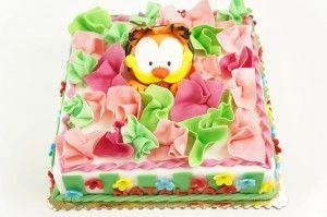 Tort z Garfieldem