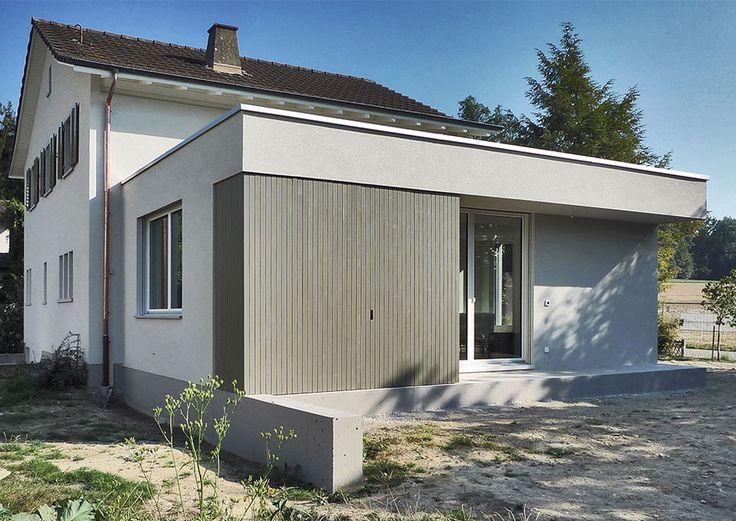 Wohnraumerweiterung Wohnhaus Lettenstrasse, Windisch « Projekte « architektur herrigel schmidlin