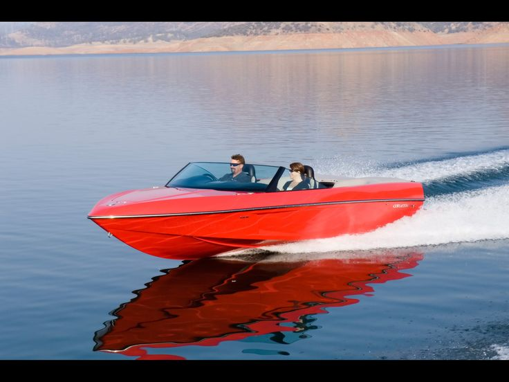 2008 Malibu Boats Corvette Limited Edition Sport-V - Front And Side Speed - 1920x1440 - Wallpaper