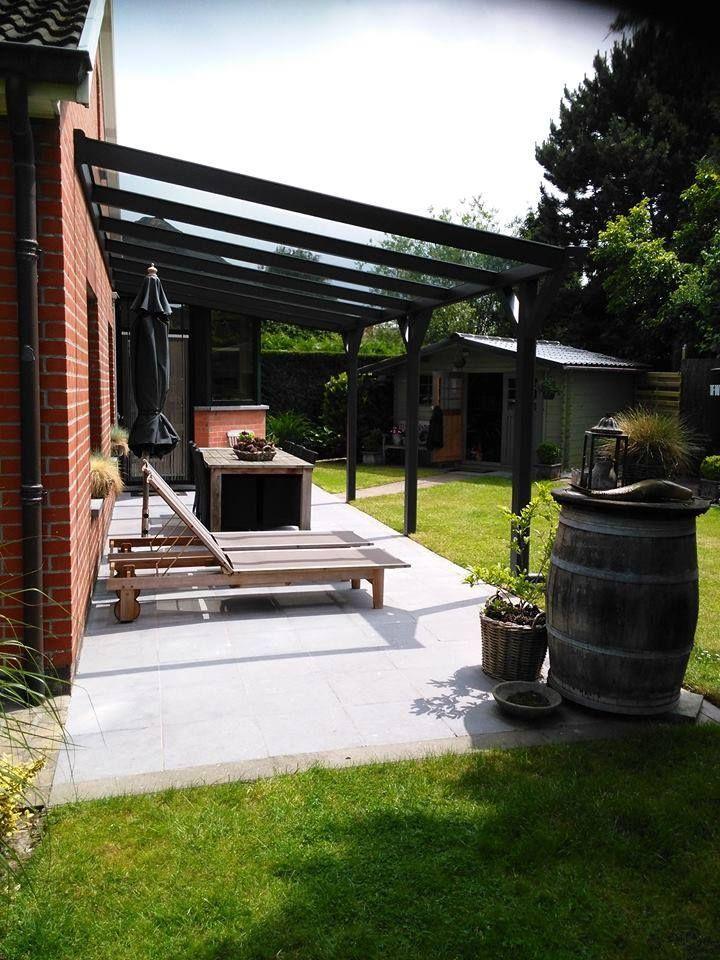 25 beste idee n over veranda dak op pinterest veranda deksel terrasoverkapping en overdekte - Overdekt terras in aluminium ...