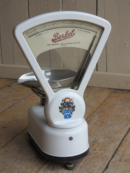 Antique Berkel Shop Weighing Scales with Tray