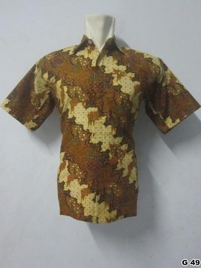 KODE G49 | IDR 70.000 | Bahan : katun prima, batik sablon kombinasi | Size M, L, XL | Hotline : 081333303545 | BB Pin 2128117C.