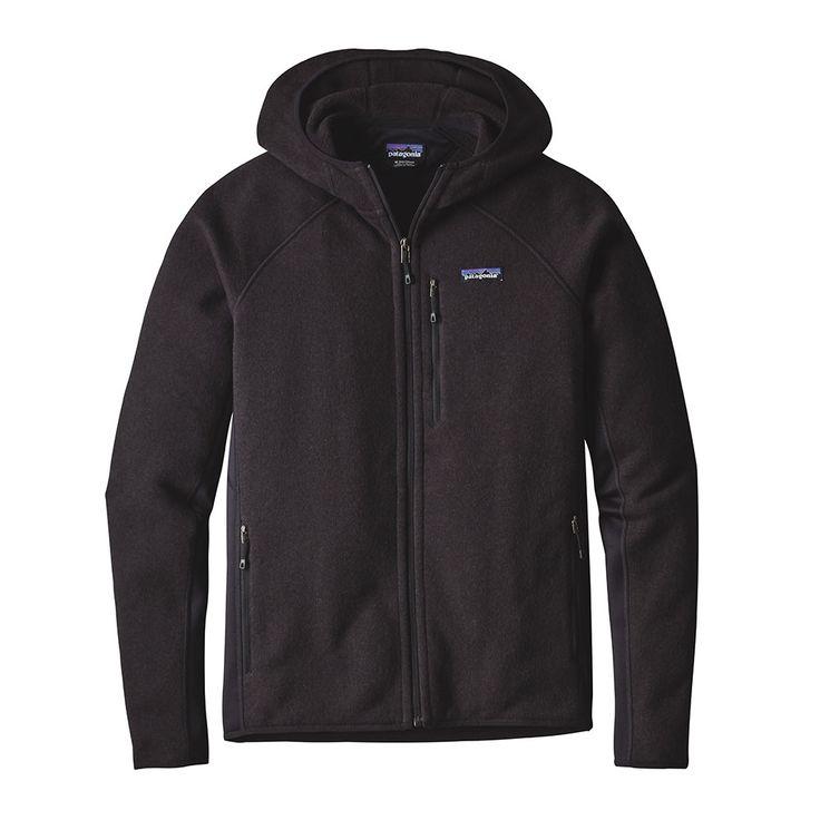 Patagonia Mens Performance Better Sweater Fleece Hoody Black