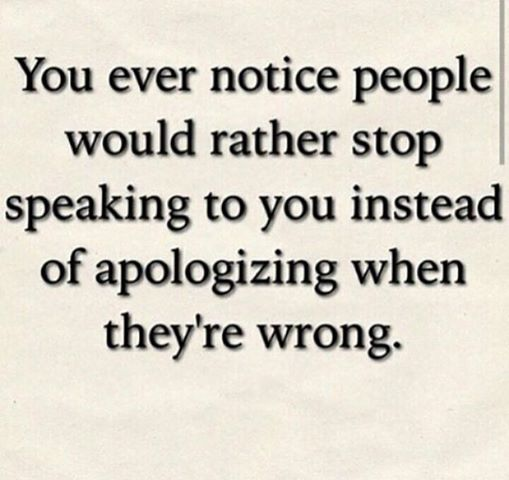 "Taking a ""time out"" from speaking to someone doesn't magically erase the mean things you did.  Just grow a backbone and apologize."