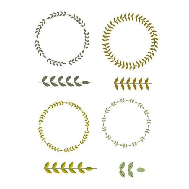 decorative wreath elements decorative elements ornament decor png and vector with transparent background for free download wreath decor leaf ornament wedding ornament decorative wreath elements decorative