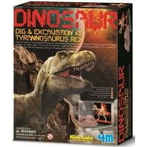 4M - Dig a Dino Skeleton Tyrannosaurus Rex Mr 5 will love pretending to be a paleontologist with this kit #EntropyWishList #PinToWin