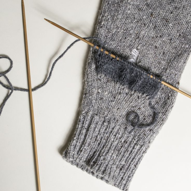 We've all found a run in one of our favorite sweaters, and it can be a huge  bummer, especially when the rest of it is perfectly intact. Well, dry those  tears, child, because if you have basic knitting skills, or can enlist  someone who does to help you out, you can cover up that hole with a knit  patch that imparts some deconstructed sophistication that Japanese  designers always seem to do so well.