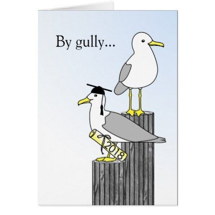 Congratulations Graduate By Gully Job Well Done! Card - humor funny fun humour humorous gift idea
