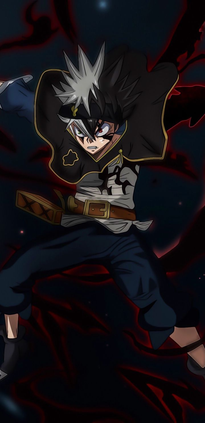 Black Clover Wallpaper For Mobile Phone Tablet Desktop Computer And Other Devices Hd And 4k Wallpapers Aslan