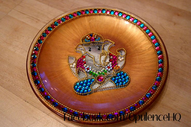Pin by opulence hq on opulence pinterest for Aarti plate decoration