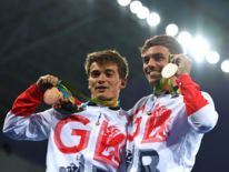 Daniel Goodfellow and Tom Daley