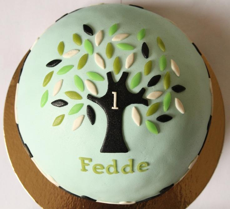 bol cake birthcard Fedde 1 year