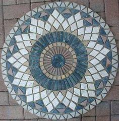 "Mosaic Floor Tiles | 32""Marble Tile Mosaic Medallion Design Stone Flooring 32"" 46 | eBay"