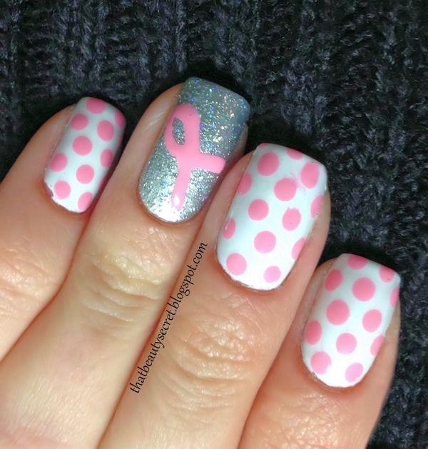 T Cancer Awareness Shirts Nail Color Designs Pinterest Nails And