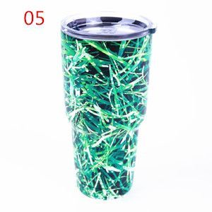 Dmart7deal30 oz Camo YETI Tumbler Rambler Cups Large Capacity Stainless Steel Cars Coffee Thermos Mugs My Sports Water Bottle