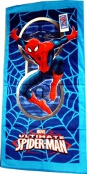 haine copii: Prosop plaja Spiderman - 2482 (Haine copii cu personajul Spiderman, 4-10 ani, accesorii)