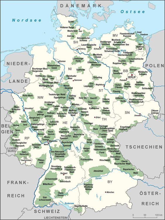 19 Landkarten, die Dir eine komplett neue Sicht auf Deutschland geben – Ti Wo