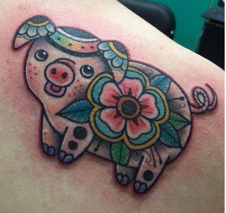 Pig tattoo                                                                                                                                                     More