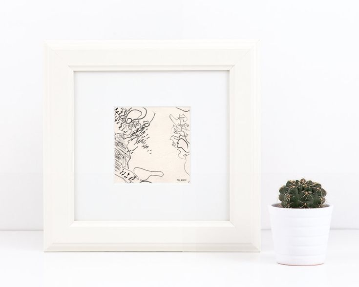 Excited to share the latest addition to my #etsy shop: Abstract pencil drawing, small stippled sketch, signed original abstract beach art, pencil on paper, abstract line art #art #drawing #sketch #pencil #abstract #artforsale