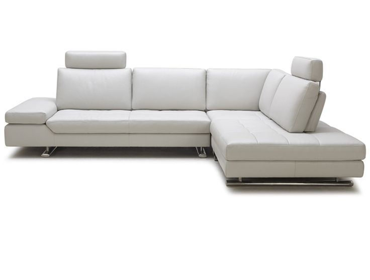 Good Nueva Louis 1598 White Leather Sectional In Houston Texas Feature | Rugs,  Sofas And Coffee Tables Etc. | Pinterest | Leather Sectional