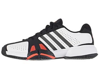 adidas Barricade Team 2 Wh/Black Men's Shoe - Size 10.5