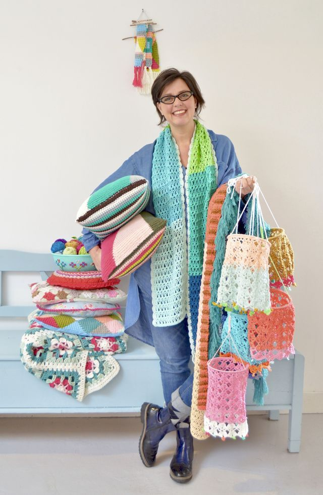 Vijf kleuren sjaal ! | byClaire | Bloglovin'