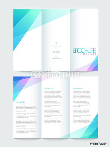 97 best Tri-fold brochure images on Pinterest Brochure template - free printable tri fold brochure templates