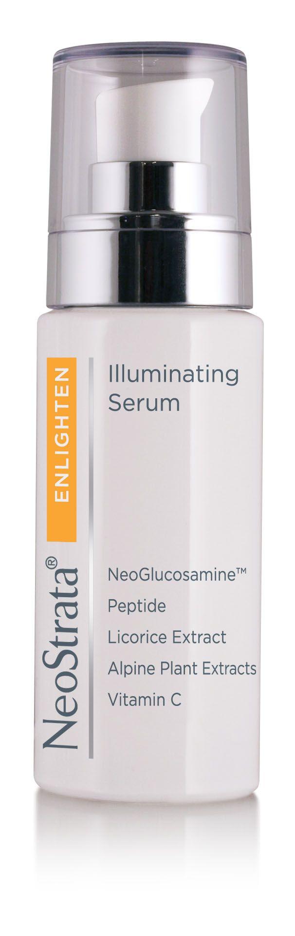 Suero Facial diseñado para dar luminosidad y unificar el tono de la piel afectada por hiperpigmentación causada por la edad,desordenes hormonales y exposición a los rayos UV.