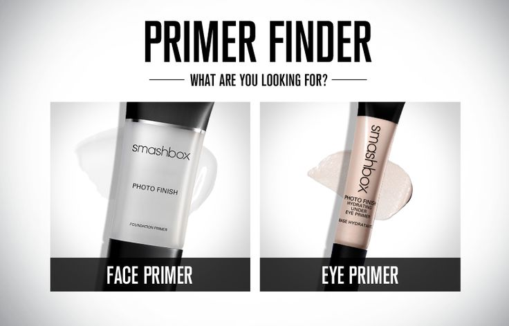 Primer Finder | Smashbox Cosmetics