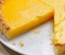No Bake Lemon Tart