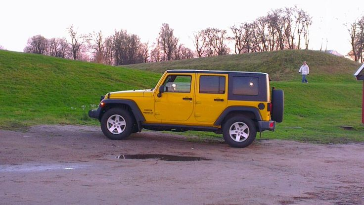Our Jeep, we love that car