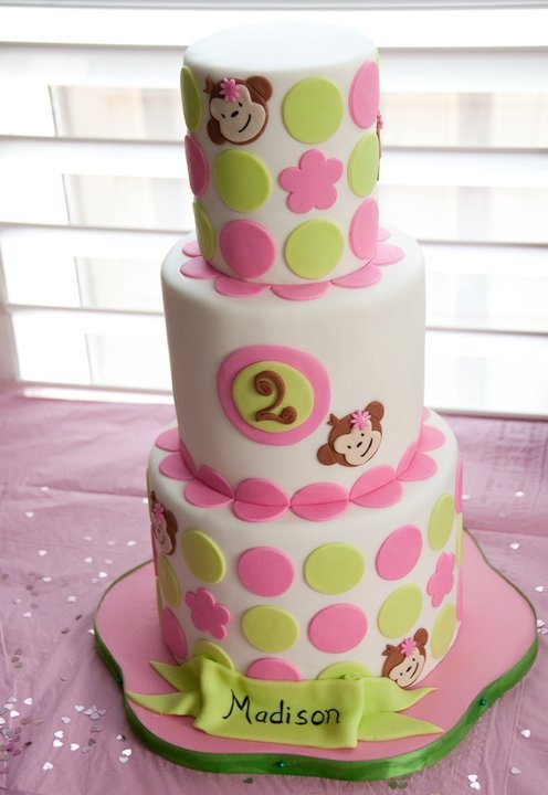 Sweet Monkey Cake#Repin By:Pinterest++ for iPad#