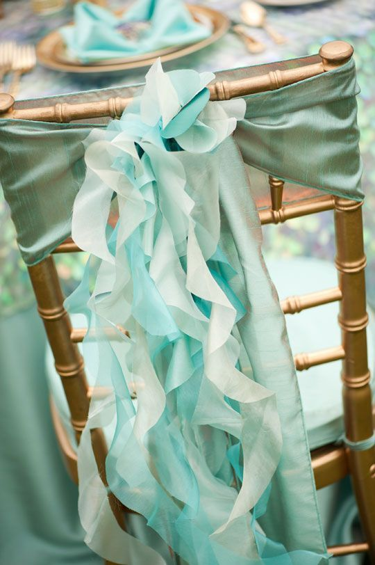 25 Lovely Mint and Gold Wedding Ideas