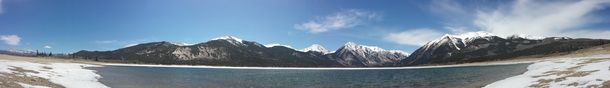 Twin Lakes Colorado Mount Elbert  #winter #twin #lakes #colorado #mount #elbert #photography