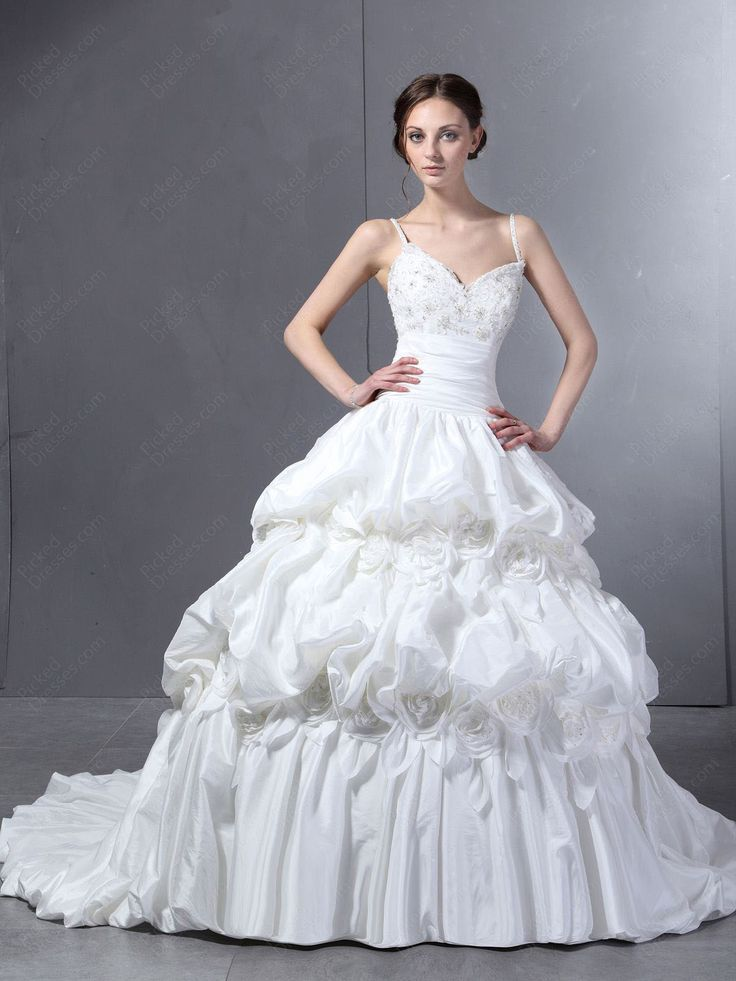 websites that sell big chapel train ball gown dresses