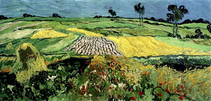 V. Van Gogh - Campi di grano vicino Auvers (1890)