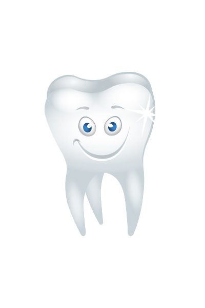 Happy Tooth Vector Image #tooth #dentist #vector #vectorpack http://www.vectorvice.com/dental-vector-pack