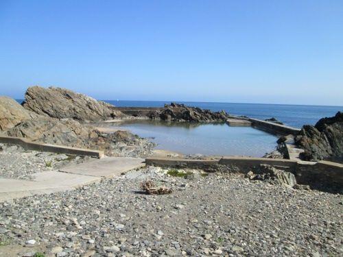 Portsoy Tidal Pool - low tide