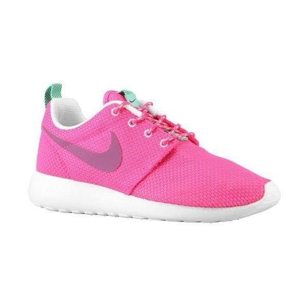 Nike Roshe Run Women's ($70) ❤ liked on Polyvore featuring shoes, sneakers, nike, light weight shoes, lightweight shoes, nike footwear and nike shoes