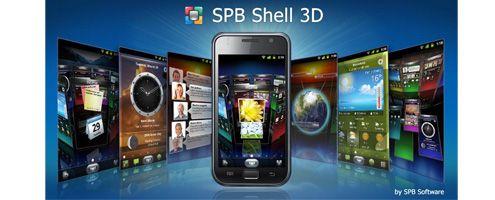 App: SPB Shell 3D. Convierte tu Android en algo original.