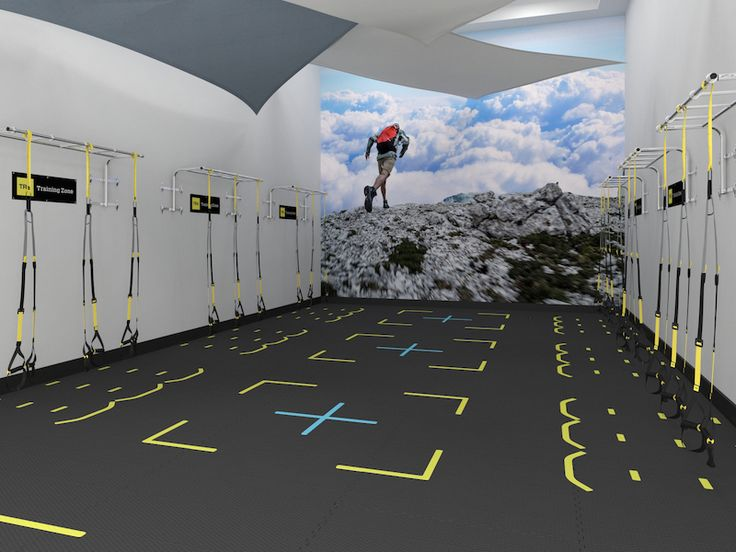 Racquetball court conversion designed for health clubs
