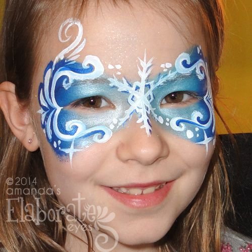 frozen face painting | just like elsa check out my new frozen face paintings and call or ...