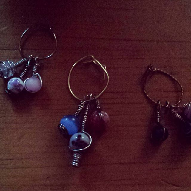 Wine charms done!!!😊