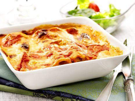 Cannelloni med ricotta och spenat | Recept.nu