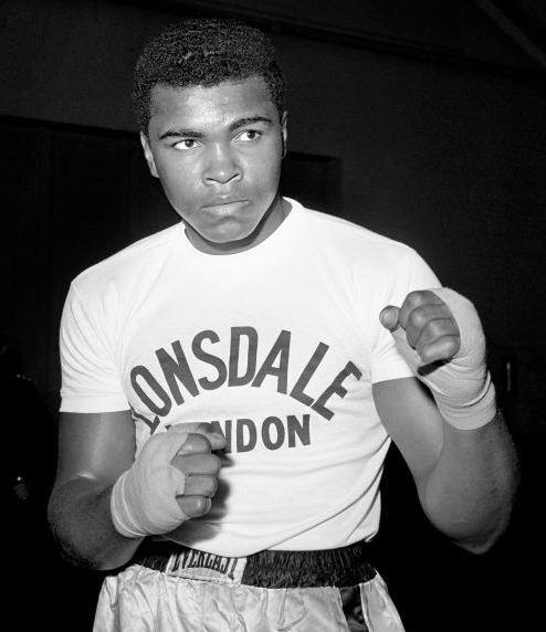 Then Cassius Clay - Muhammad Ali
