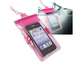 NY!Vattentätt fodral för SmartPhone iPhone 4/4S HTC S2 mfl.Pink