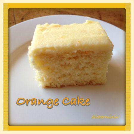 30 Second Orange Cake - Thermomix