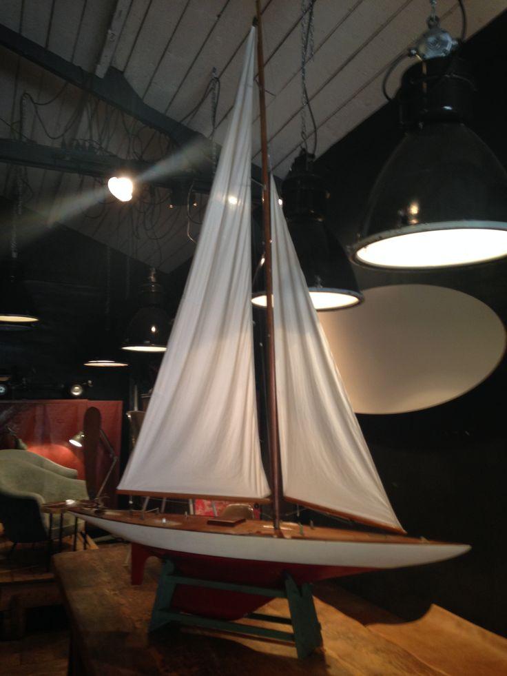 Maquette voilier, circa 1930-40