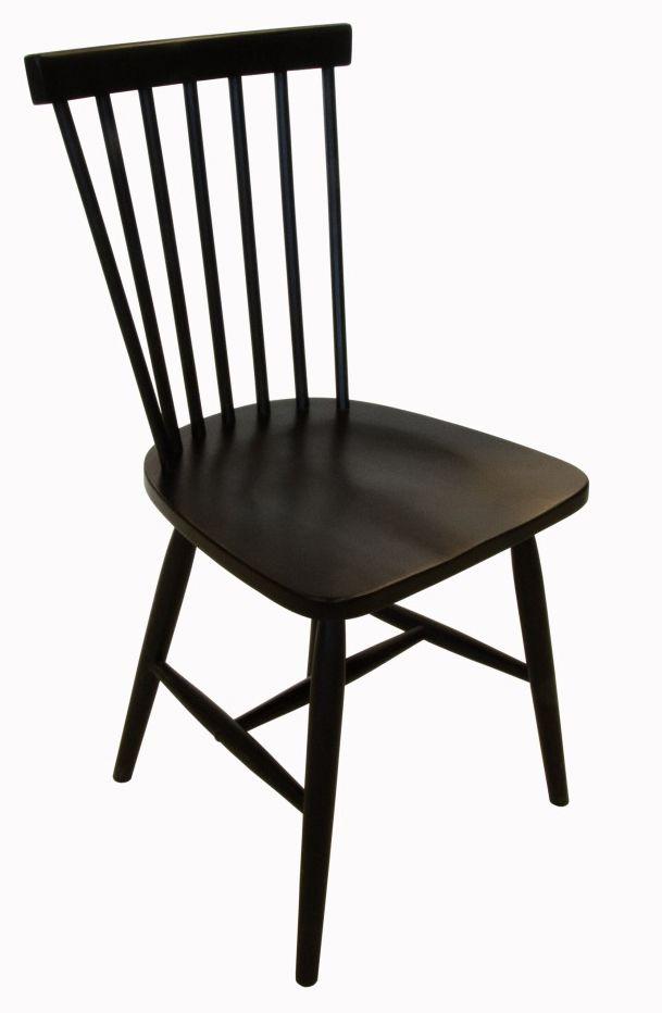 Karl-Oskar pinnstol - svart - 595 kr. Trendrum.se
